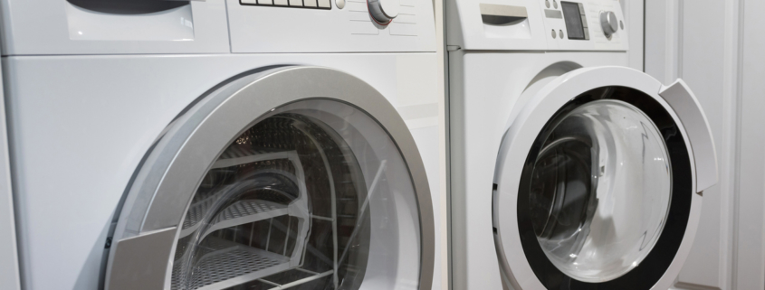 Washing machines, dryer and other domestic appliance equipment in the house